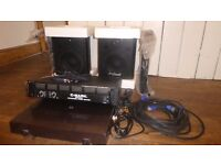 Speakers ProSound and C-Mark Amp for Sale