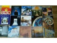 18 x moody blues collection LP's / 12 inch / tour progs / poster