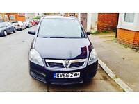Vauxhall zafira 6 month mot 12 month tax £1350