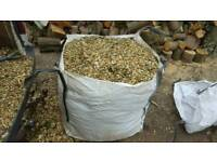 1 ton bag of wood chip/mulch