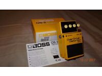 Boss overdrive/distortion pedal OS2
