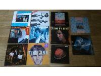 "21 x crowded house / split enz / tim finn / LP's / 12"" / 7&quot"