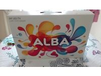24 inch alba led tv with built in dvd player pink