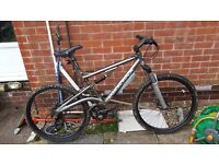 Diamond back full suspension mountain bike