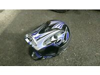 Boys motorbike helmet