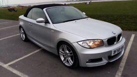 BMW 118i Msport convertible, Fsh, low mileage