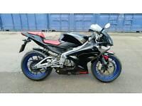 Aprilia rs 154cc registered as 125