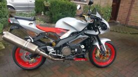 Aprilia Tuono 1000 - Silver and Red, only 13000 Miles from new, in Stunning condition