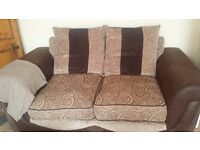 Two 2 seater DFS sofas REDUCED