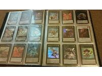 Yugioh cards rare folder 180 cards