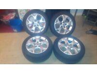 "Vauxhall 16"" Snowflake Alloys ( Vectra Astra Omega Zafira )"