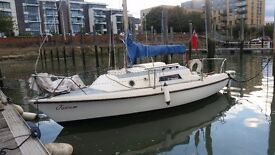 Westerly 21ft Sailing Boat