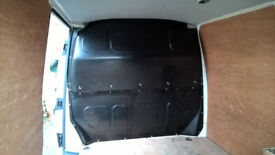 VW T5 Transporter Steel Bulkhead and side top fittings also all nuts