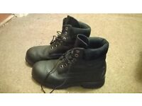 two pairs of mens timberland boots size uk 7