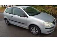 VW Polo 1.2. 80000 miles. full service history. New MOT. 2006 new shape. superb condition. PAS.