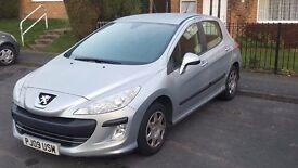 Peugeot 308 (09) 1.4 petrol silver 5dr