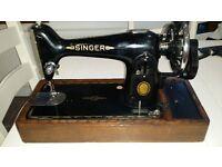 Antique/vintage Singer 201k sewing machine