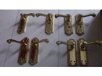 4 pairs of door handles.