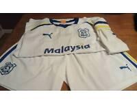 Vintage Cardiff City Kits And shorts