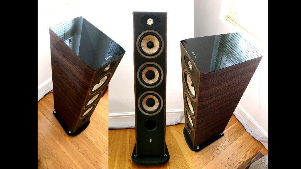 Focal Aria 926 (Noyer Walnut) Floorstanding Speakers **REDUCED | in  Southfields, London | Gumtree