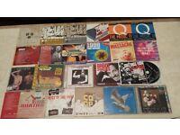 JOBLOT 120 X COMPILATION CD ALBUMS INDIE PUNK NME ROCK POP UNCUT WORD MOJO Q METAL HAMMER KERRANG