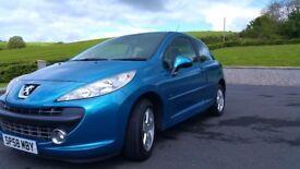Peugeot 207 mplay 1.4 petrol