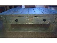 Handmade, unique pallet coffee table £50