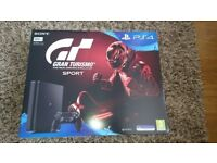 PS4 Sony with Gran Turismo Sport Game Included -NEW UNOPENED