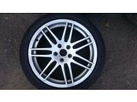 Audi rs4 alloy wheels to fit audi vw seat