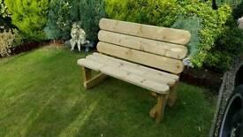 Brand new garden bench
