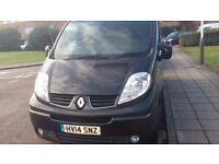 Progect renault trafic camper van for sale