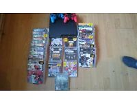 Ps3 bundle with 35 games make a offer