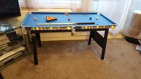 Snooker Table.