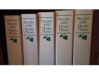 Success with Houseplants binders -full set
