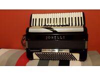 Jonelli accordion 120 bass for sale