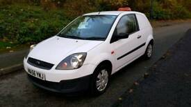 2006 56 Ford Fiesta Van 62,000 Miles Direct Council, No VAT