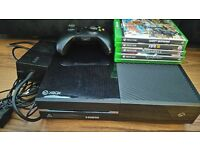 Xbox One with Controller and 5 games - £140 ono