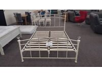 Ex Display Julian Bowen Sophie Crystal King Size Bed Frame Can/Del View Collect Hucknall Nottingham