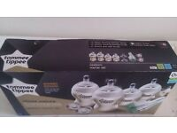Bottles Tommee Tippee newborn starter set