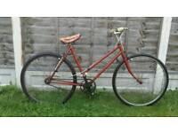 Ladies vintage single speed bike