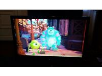"""42"""" lg tv hd ready with freeview has remote"""