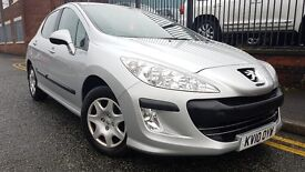 2010 Peugeot 308 1.6 HDi S 5dr Hatchback, One Owner From New, Warranty & Breakdown Available, £2,450
