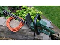 SOLD - Black and Decker GT220 Hedge Trimmer, 440w. SOLD!