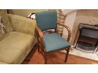 Vintage Retro Parker Knoll Style Bedroom Hall Chair