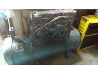 compressor welder and a press