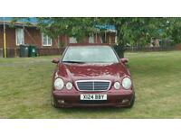 Mercedes E240 2001 with full service history