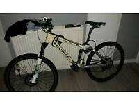 Kona kikapu deluxe full suspension mountain bike