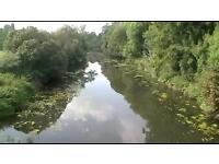 Coarse fishing private beat river Stour