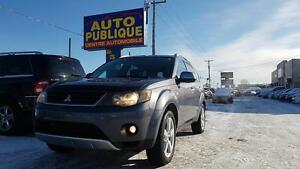 MITSUBISHI OUTLANDER XLS 2008 / AWD/ CUIR/ 6PASSAGERS /TOIT OUVR
