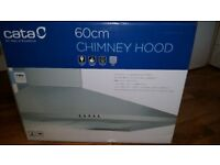 Cata 60cm Cooker Hood Never Out of Box With Carbon Filters - Can Deliver*